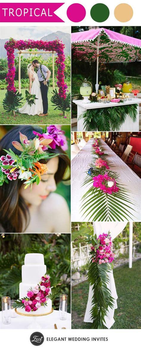 best 25 tropical centerpieces ideas on