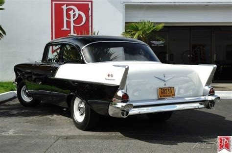 1957 chevrolet 150 black widow tribute is a must see car