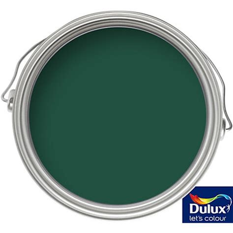 dulux weathershield highland green exterior gloss paint 750ml
