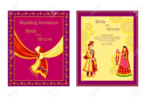 hindu wedding invitation cards designs templates marriage invitation card designs indian various