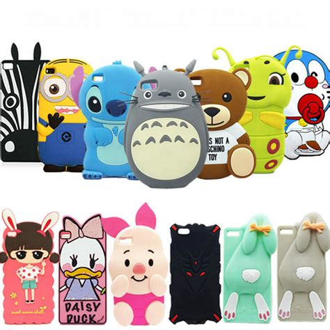 Iphone 6 6s 3d Silicone Line Brown Cony Striped Cowboy T1910 4 3d stitch iphone 5 reviews shopping 3d