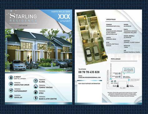 design flyer murah sribu desain flyer brosur design brochure untuk perumahan