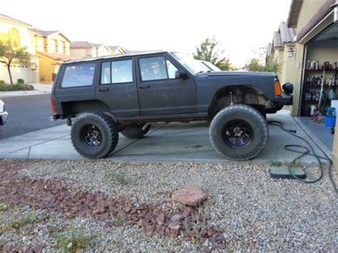 Jeep Xj Rock Crawler Purchase Used 1987 Jeep Xj Rock Crawler 4 6