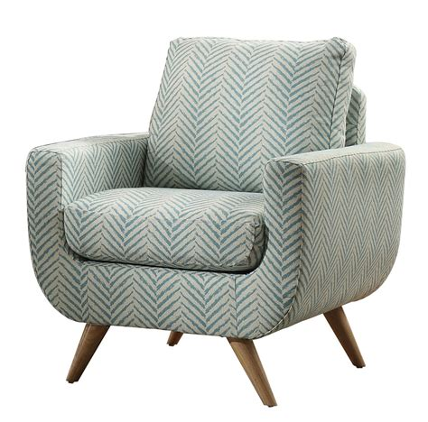Teal And Grey Accent Chair Homelegance Deryn Accent Chair Polyester Teal 8327tl 1s At Homelement