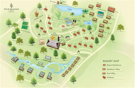 resort map chiang mai resort map four seasons chiang mai
