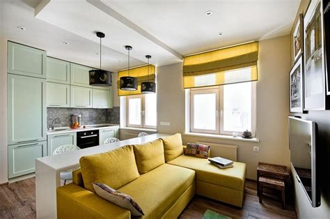 All You Wanted to Know about Furniture for One Room Apartments Home Interior Design, Kitchen