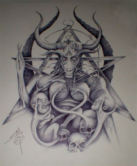 baphomet by imagist on deviantart