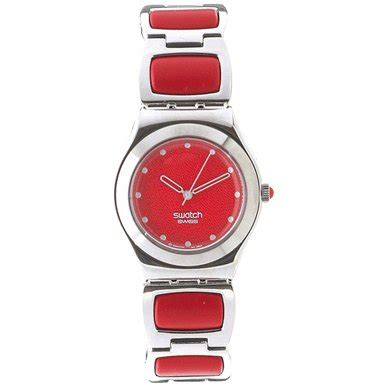 red swatch swatch red pillow watch yls128g squiggly swatch