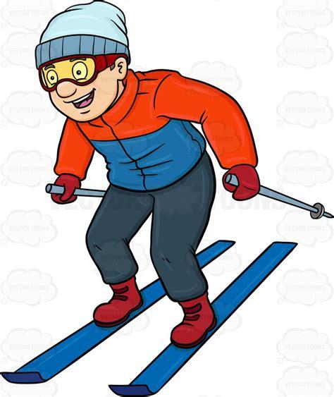 similiar skiing cartoon keywords