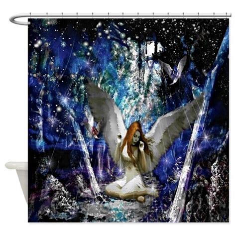 fairy shower curtains fairy shower curtain by jmckshop