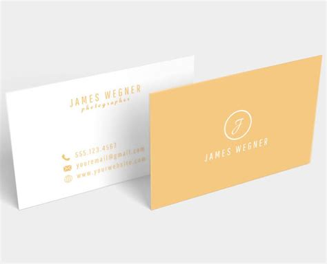 easy business card template free 20 newest creative beautiful free business card templates