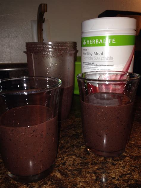 Herbalife Shake F1 Berry delicious berry herbalife formula 1 blended with