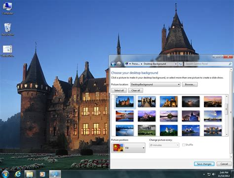 microsoft themes castles castles of europe theme download