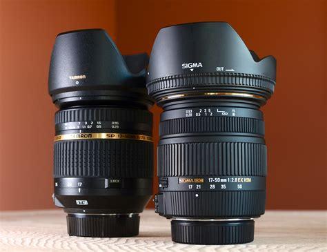 Lensa Sigma Dan Tamron lensa 17 50mm f 2 8 pilih sigma atau tamron forum