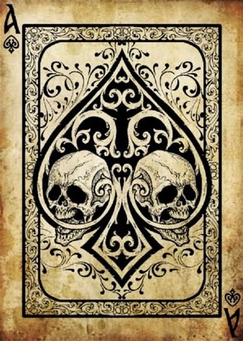 skull spade tattoo designs 10 ace sles designs and ideas