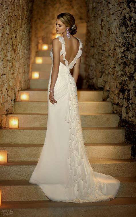 open low back wedding dresses naf dresses