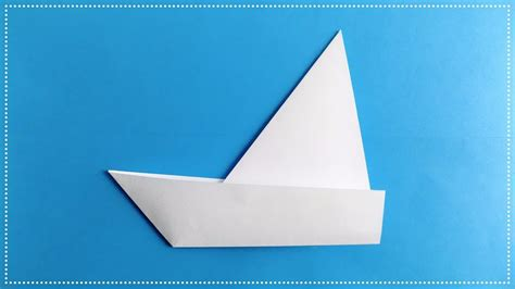 How To Make A Ship Out Of Paper - how to make a sailboat out of paper origami boat