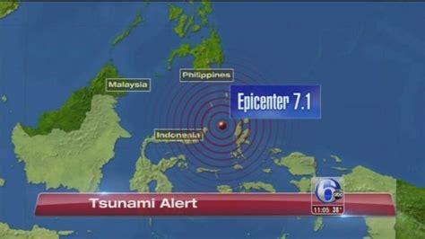 earthquake hits indonesia 7 1 quake hits indonesia causes small tsunami yahoo news
