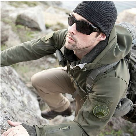 Impor Jaket Army Tad Gear Tactical Brown tad upgraded v5 0 tactical jacket outdoor winter thermal waterproof winderproof soft shell army
