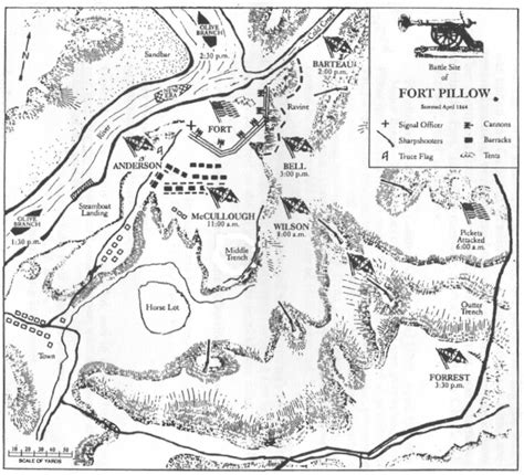 The Battle Of Fort Pillow by Battle Of Ft Pillow Overview