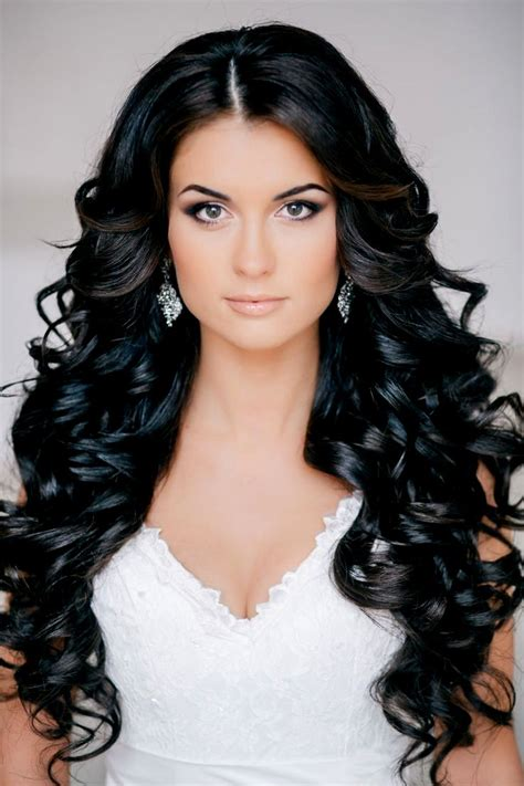 hairstyles for long curly black hair cute hairstyles long black hair hairstyles ideas