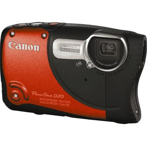 rugged point and shoot canon goes rugged with the powershot d20 point and shoot