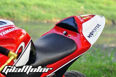 Single Seater Nvl Dan Nva Movistar fairing untuk v ixion kalau sudah bosan tinggal copot