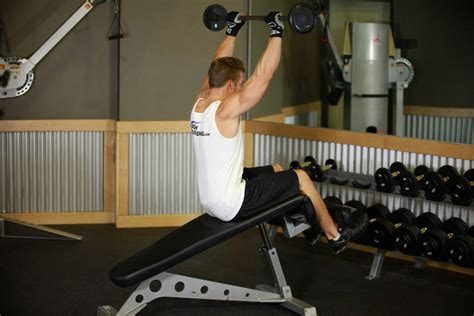 bench press sit up press sit up exercise guide and video