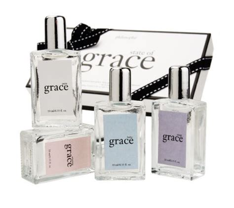philosophy state of grace fragrance wardrobe 4 pc gift