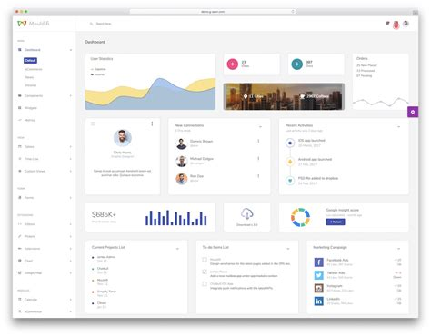 19 Best React Dashboard Templates For Killer Applications 2019 Colorlib React Dashboard Template