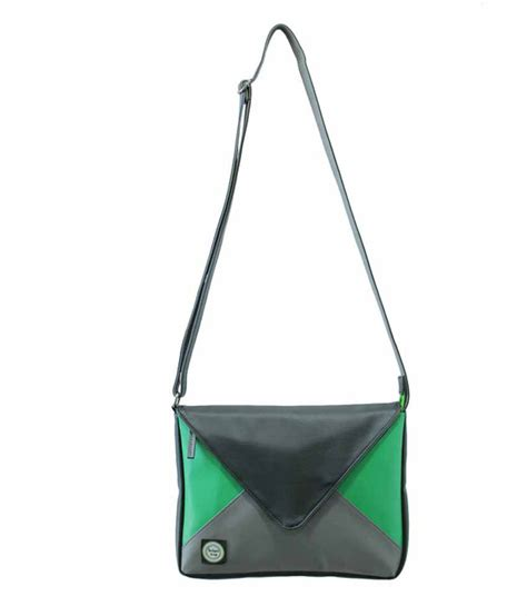 Sling Bag Envelope Black buy anekaant envelope black p u sling bag at best prices