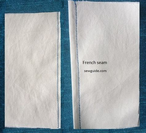 pattern définition français 17 different types of seams how to sew them sew guide
