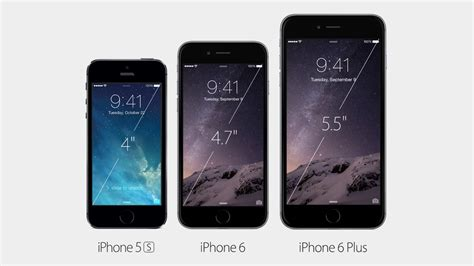 Dus Iphone 6 6 Plus iphone 6 vs iphone 6 plus vs iphone 5s specifications
