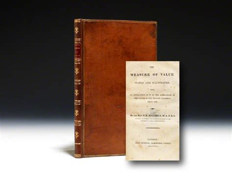 malthus founder of modern demography books robert malthus measure of value edition