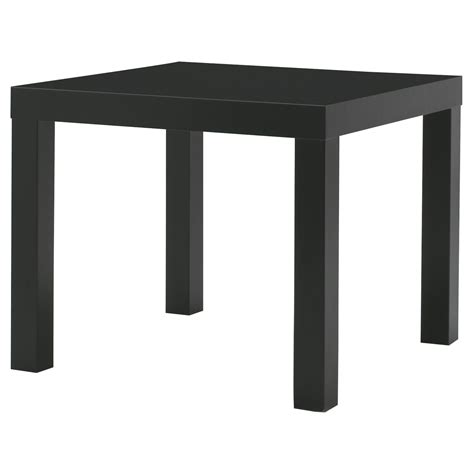 Ikea Side Table Uk Lack Side Table Black 55x55 Cm Ikea