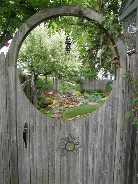 25 best ideas about wooden garden gate on