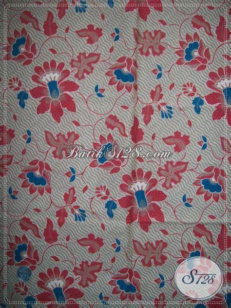 Kain Untuk Seragam Kain Batik Printing Halus Yang Cocok Untuk Seragam Batik