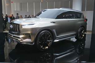 Infiniti X80 Infiniti Qx80 Monograph Styling Cues Bound For Production