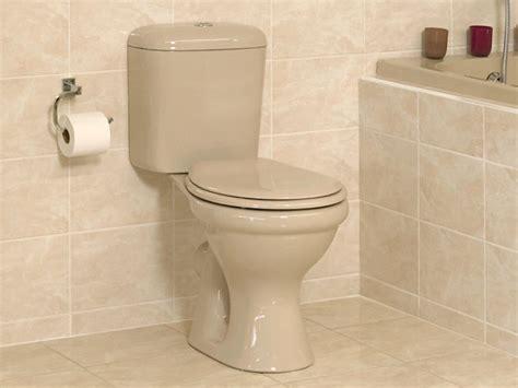 Beige top flush coral toilet ctm