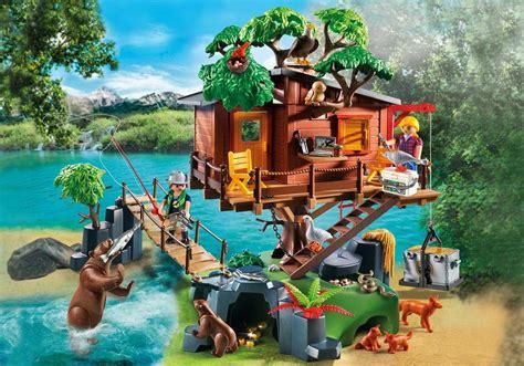 treehouse episodes cabane des aventuriers dans les arbres 5557 playmobil