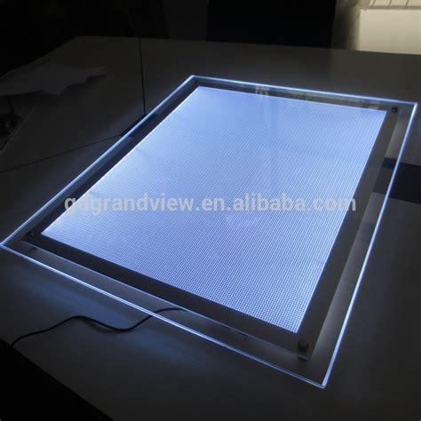 led acrylic edge lighting ultra slim custom acrylic led edge lit sign buy acrylic