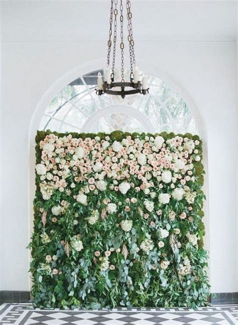 brilliant flower wall wedding backdrops