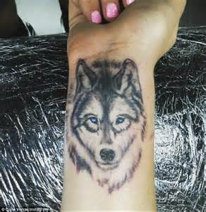 wolf tattoos on wrist the gallery for gt small wolf wrist