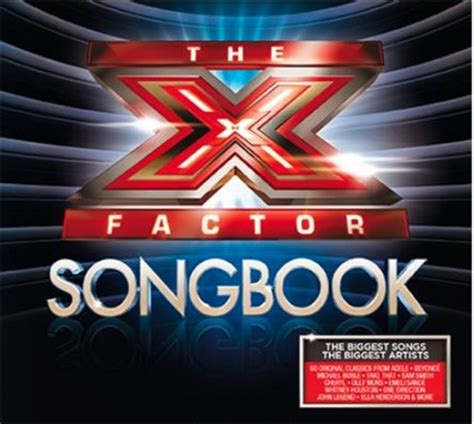 song x factor x factor songbook album announced with 1d beyonc 233 and