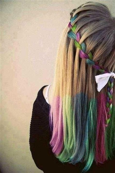 cool ways to dye your hair natural colors www pixshark cool and funky hair coloring ideas aelida