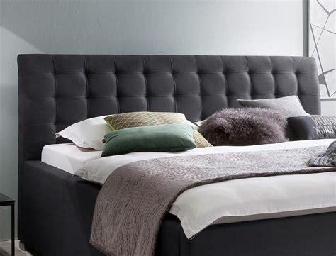 futonbett mit lattenrost und matratze günstig polsterbett mit bettkasten larissa 180x200 anthrazit rost