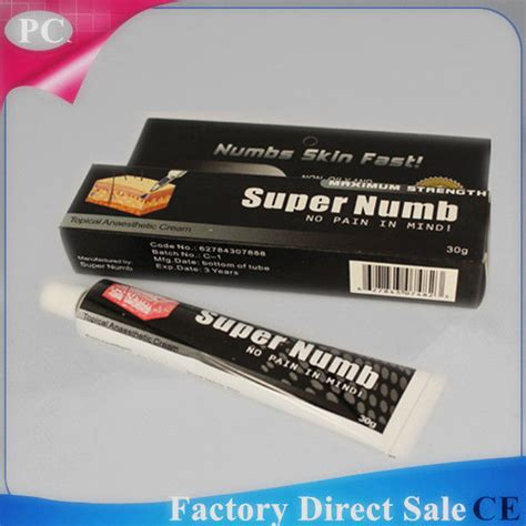 tattoo cream for no pain 30g super numb anaesthetic numbs skin fast cream no pain