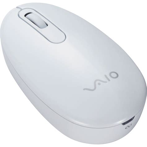 Mouse Wireless Sony sony vaio wireless travel mouse white vgpwms10 w b h photo