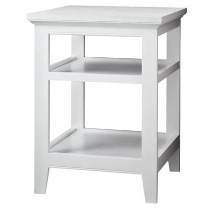 white side table threshold carson end table end tables target and side tables white end tables iron wood