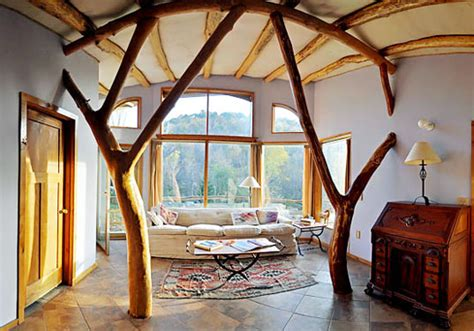 green interior design products beautiful buildings made from whole trees inhabitat